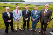 Con Edison Solutions joins airport executives to launch first solar array at a South Carolina airfield.